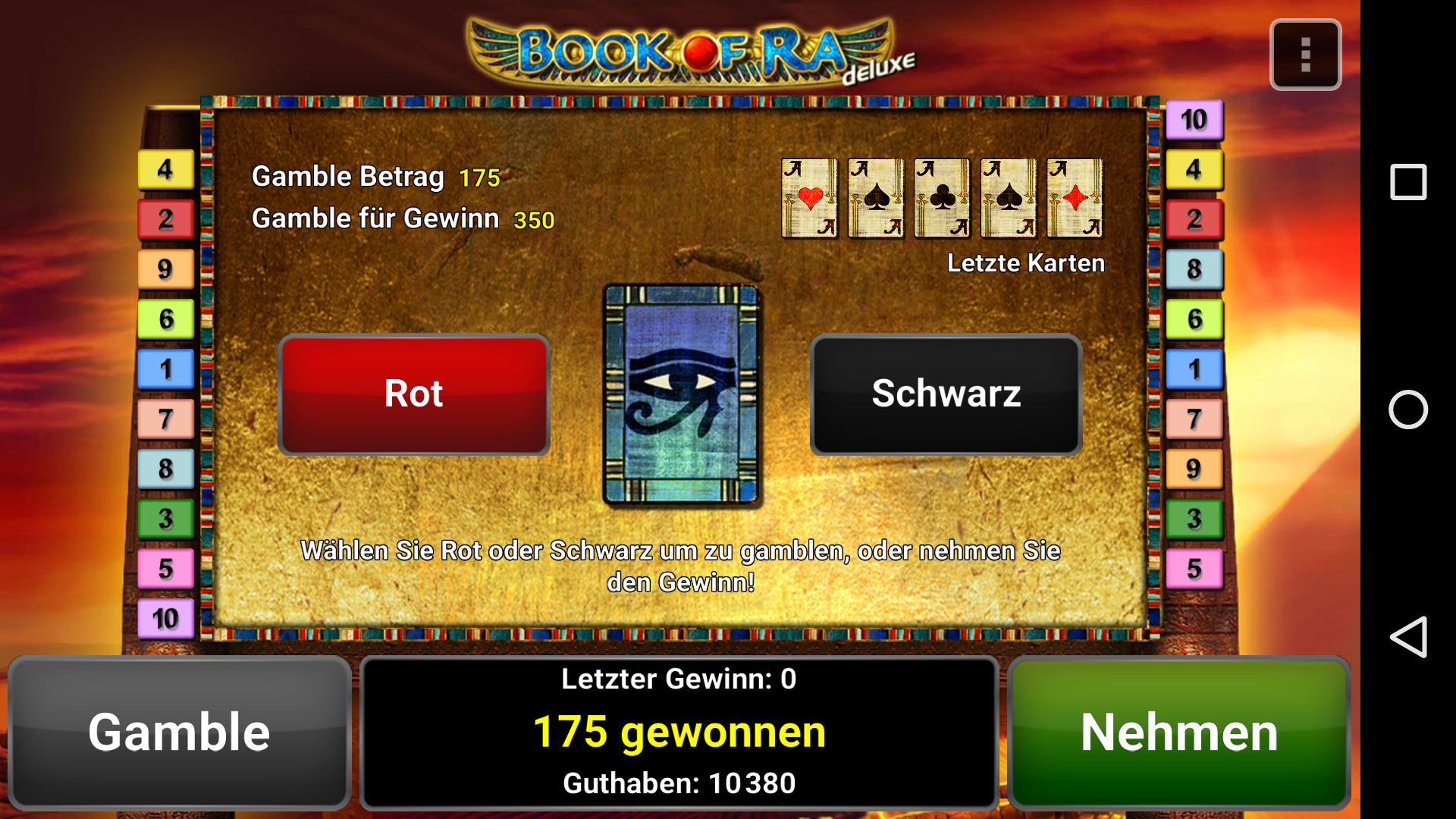 Book Of Ra For Mobile Java